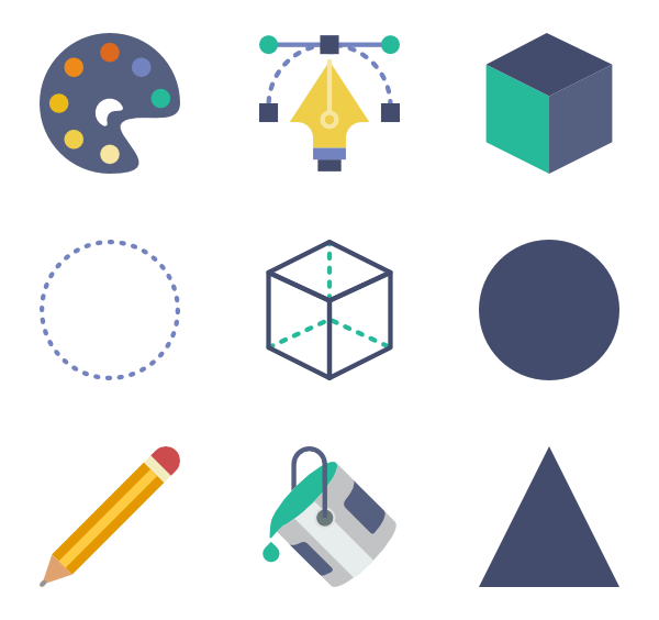 How to create vector from png in illustrator. Icon packs svg