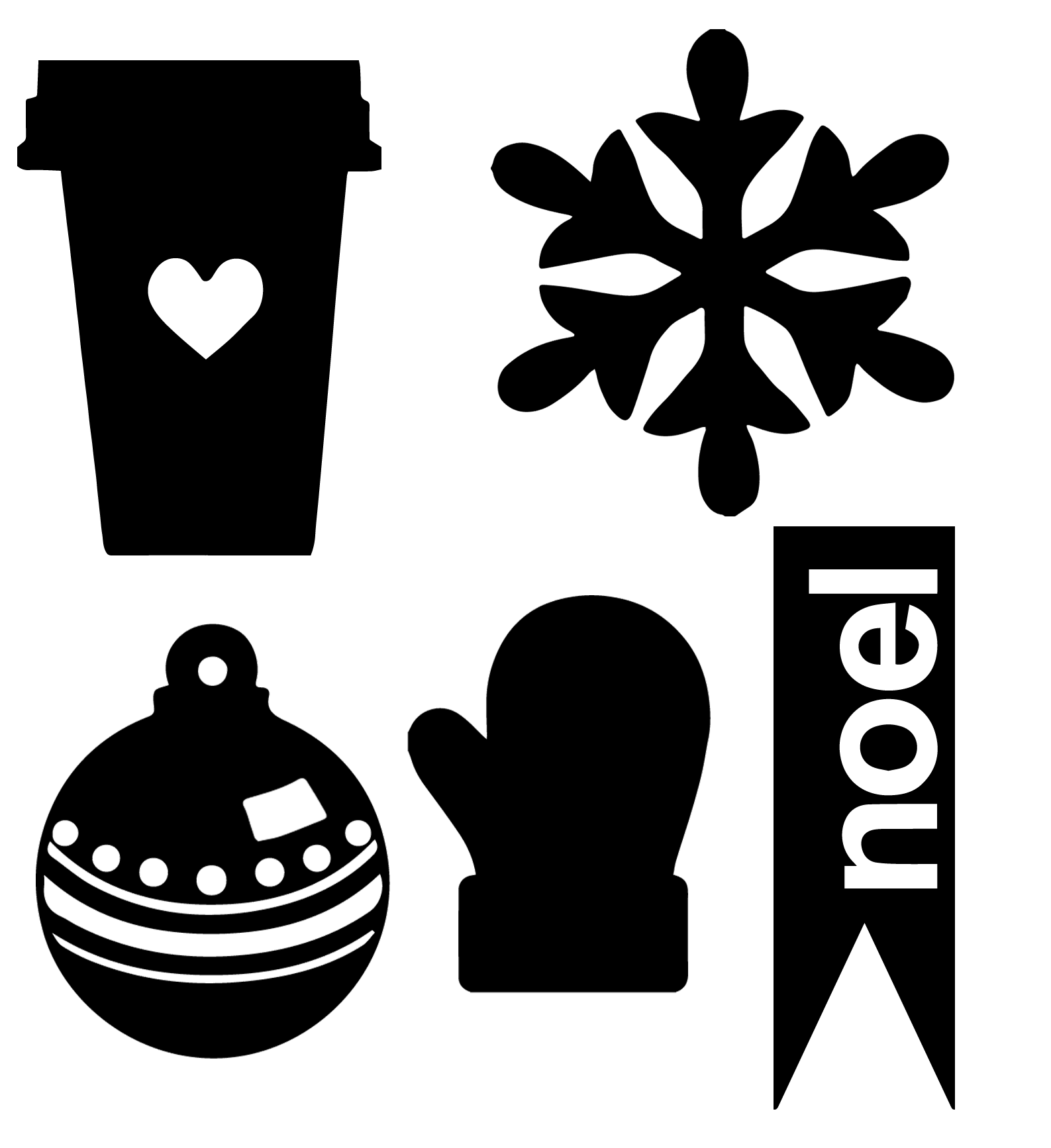 Christmas village at getdrawings. How to cut a png file in silhouette vector stock