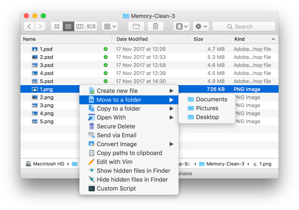How to edit a png file on mac. Power menu lets you