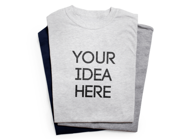 How to embed the color space png shirt print. T maker make custom