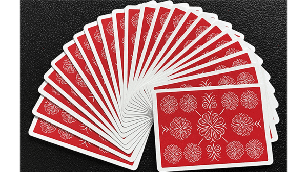 How to fan a deck of cards for beginners png. Choice cloverback red playing