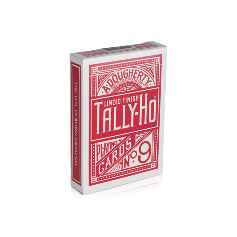How to fan a deck of cards for beginners png. Tally ho back red