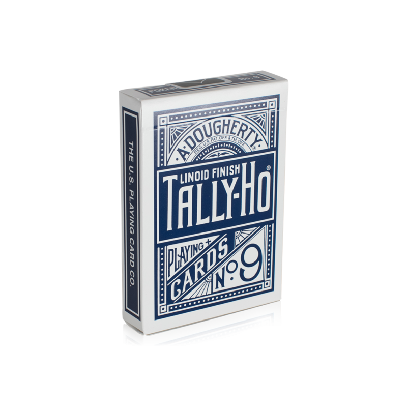 How to fan a deck of cards for beginners png. Tally ho back blue
