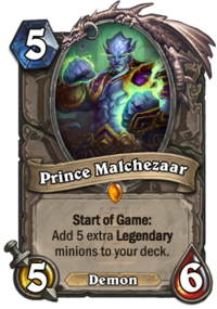 How to fan a deck of cards for beginners png. Prince malchezaar hearthstone wiki