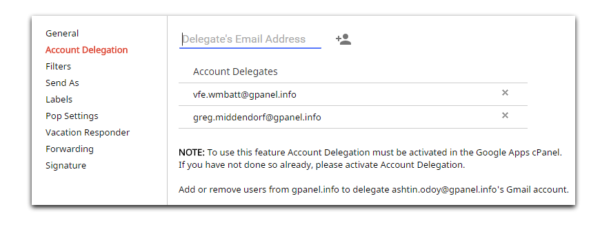 How to get png in gmail signature. User management settings gpanel
