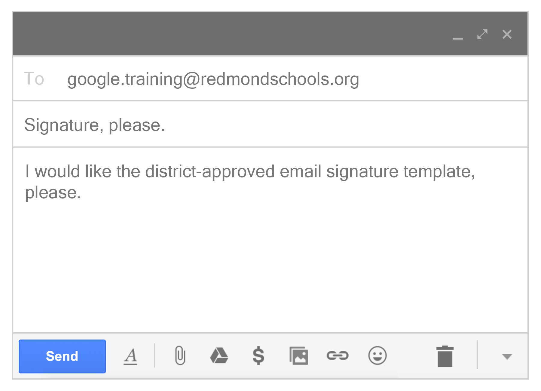 How to get png in gmail signature. Level pps badgequest message