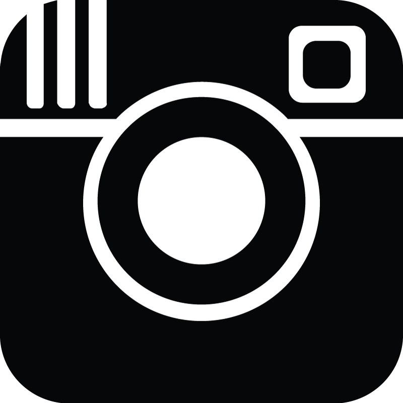 black and white instagram logo png