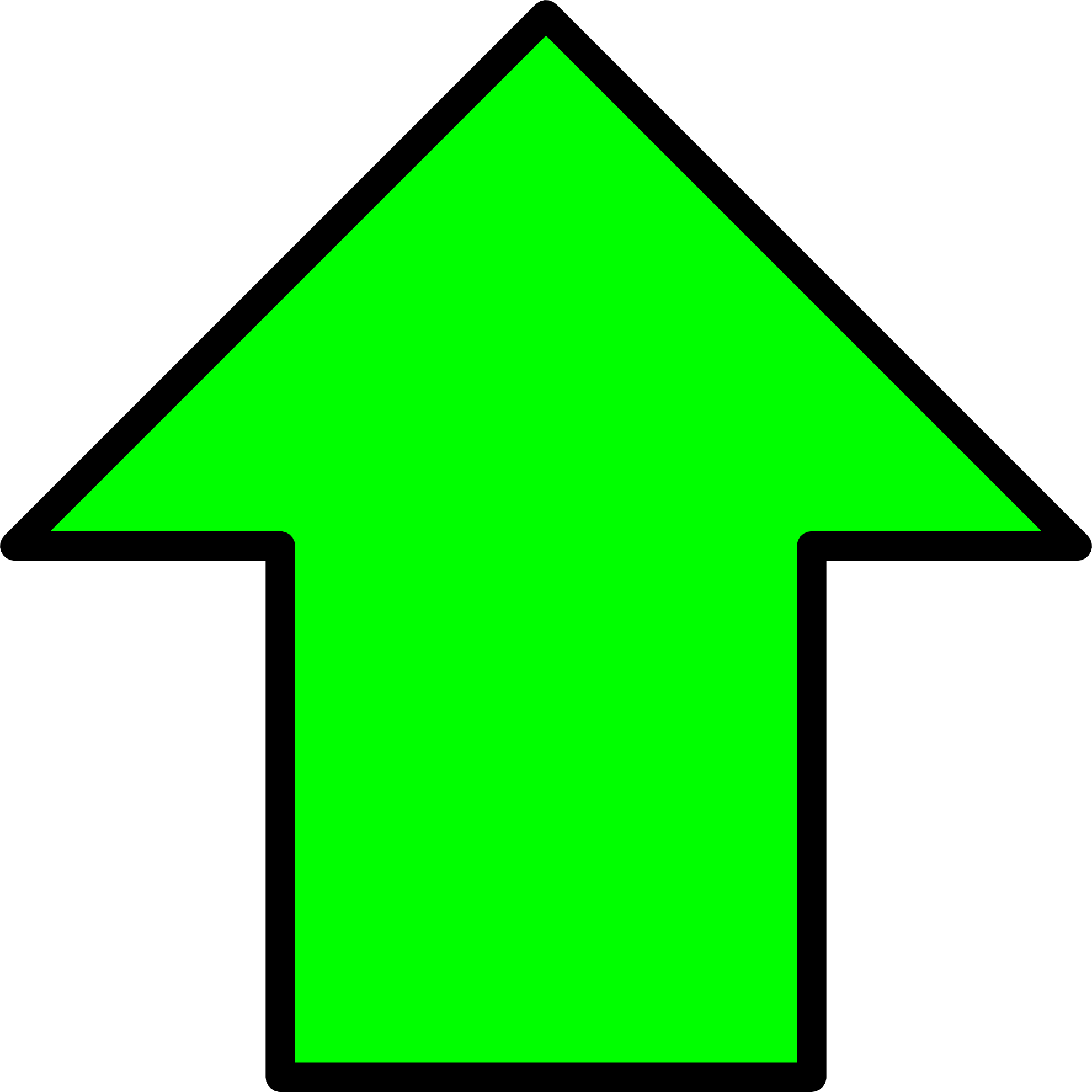 up arrow green png