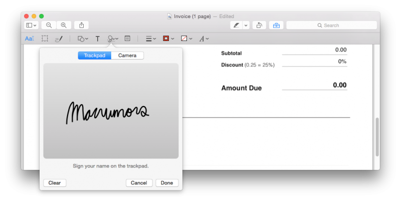 Create pdf from png mac. How to electronically sign