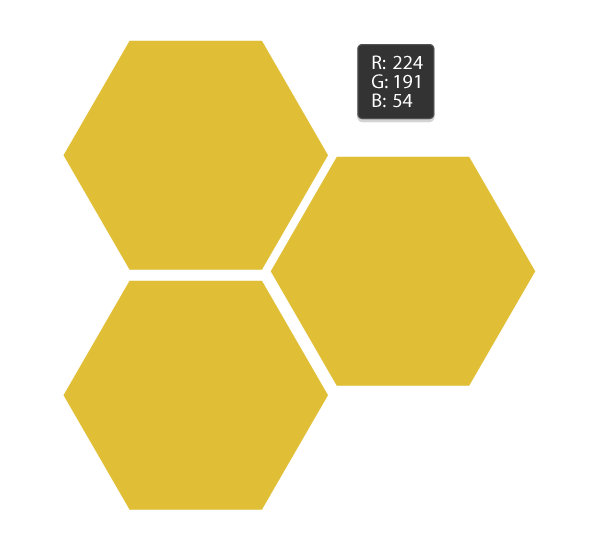 How to make a honeycomb png. Create honeybee on in