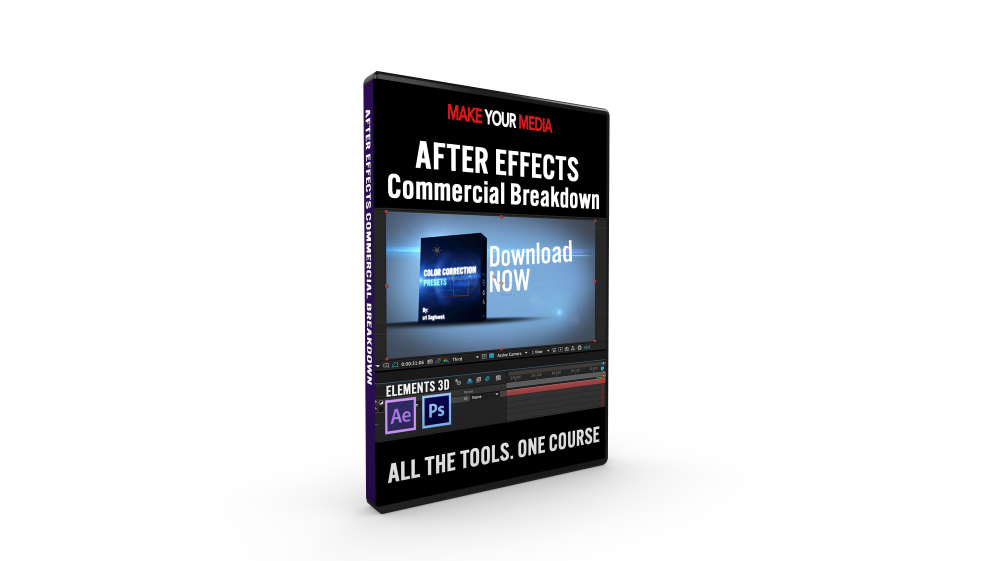 How to make a png 3d in after effects. Create real d commercials
