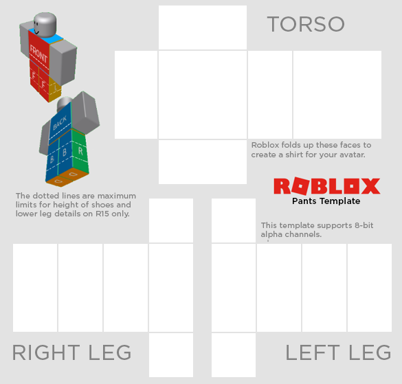 Transparent templates clothing roblox. File templatepng png image