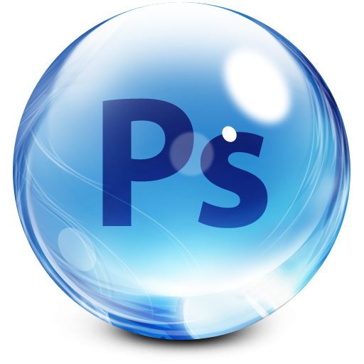 How to make a png photoshop. Crystal ball icon clipart