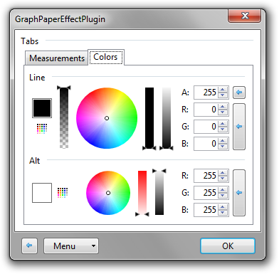 How to make a transparent png in paint.net. Graph paper v feb