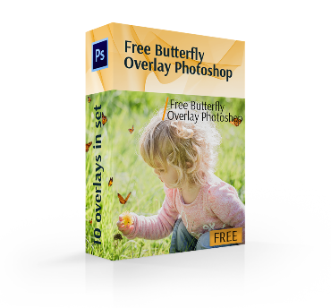 How to make png on photoshop. Free butterfly overlays for