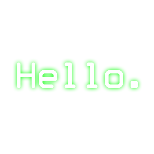 How to make text png. Blurred font generated in