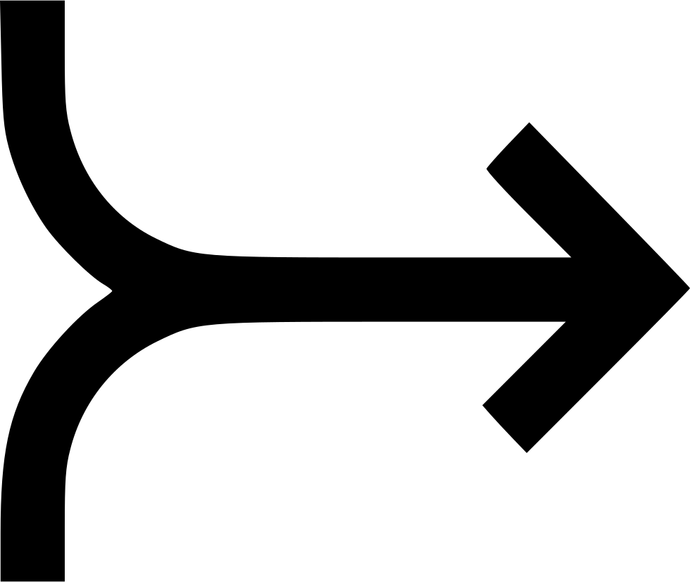 Road svg transparent. Merge right way png