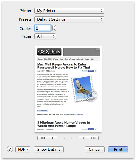 How to open a png file on mac. Print files directly from