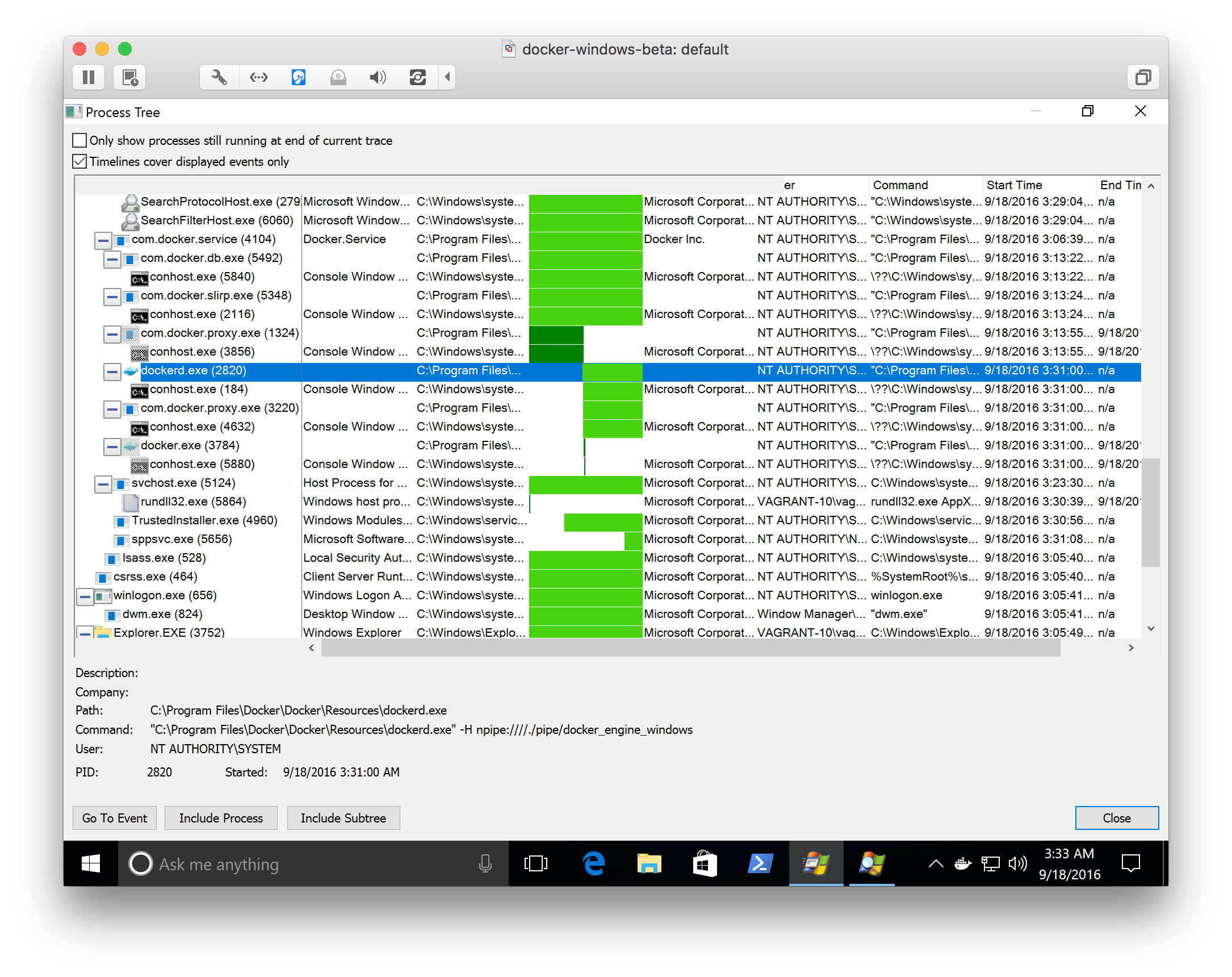 How to open a png file on windows 10. Run linux and containers