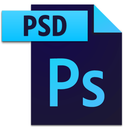 How to open a png in photoshop. Adobe psd files icon