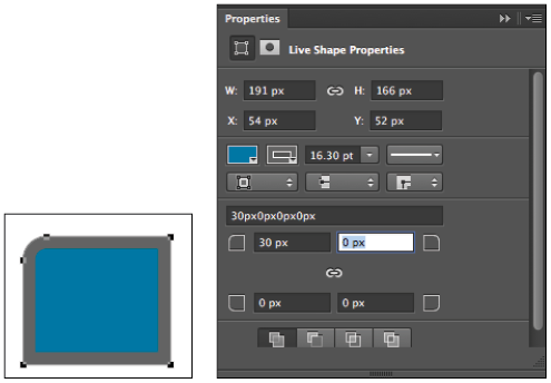How to open png in photoshop. Tutorial live shape properties