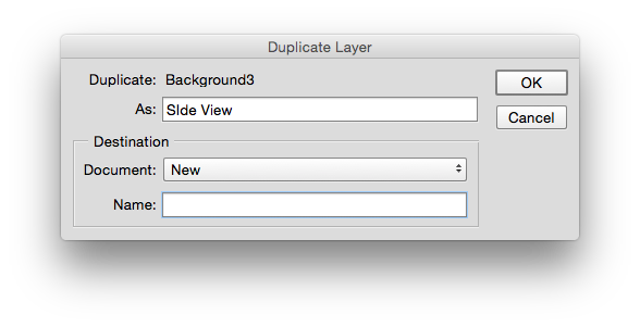 How to open png in photoshop. A layer as new