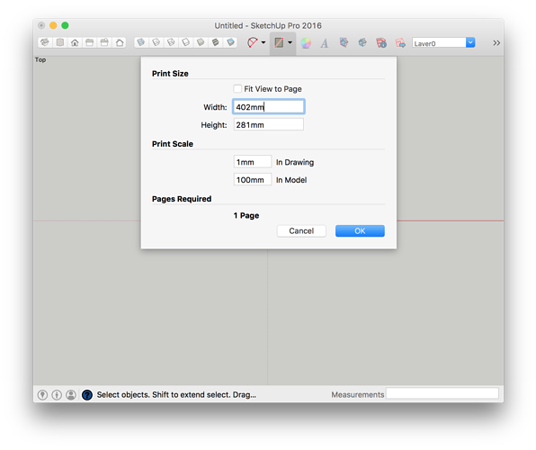 How to print png on windows. Section cuts export scale