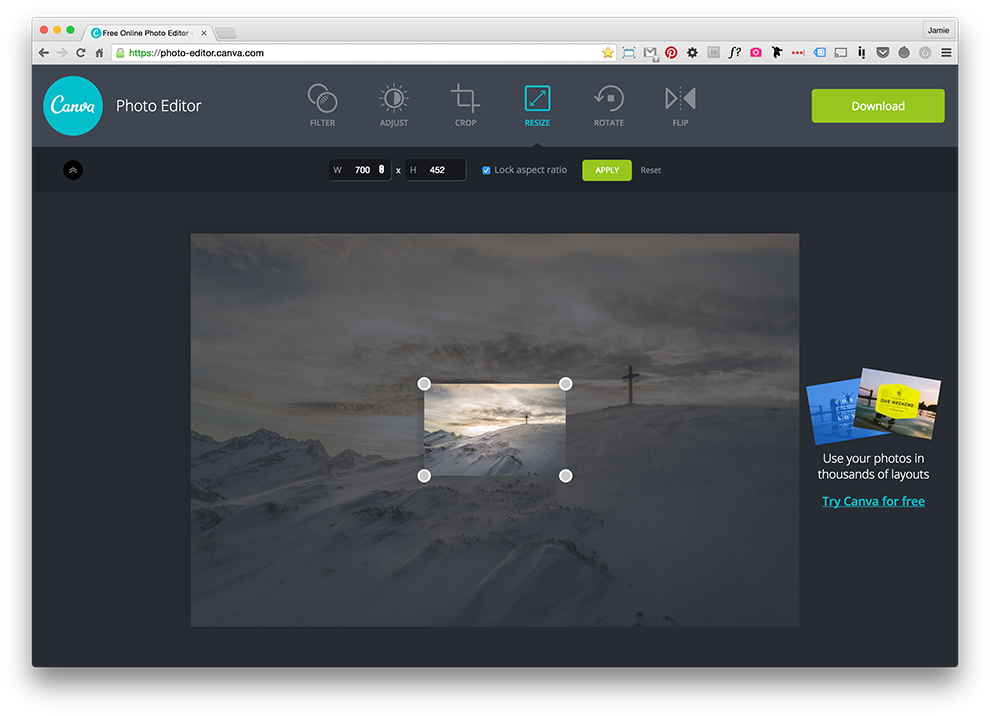 How to resize a png image. Images using canva dpi