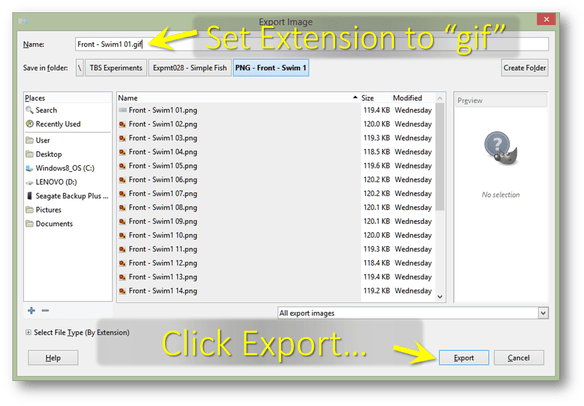 Flash export png sequence. How to create an