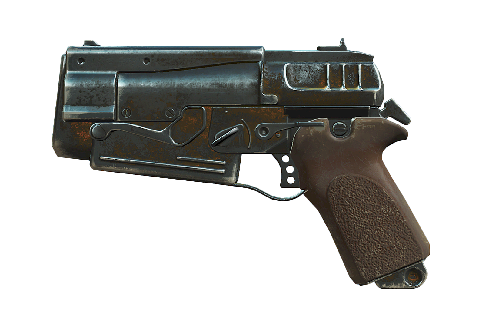 How to saw photoshop file as png. Image fallout mm pistol