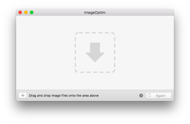 How to shrink a file size png. Using imageoptim for reducing