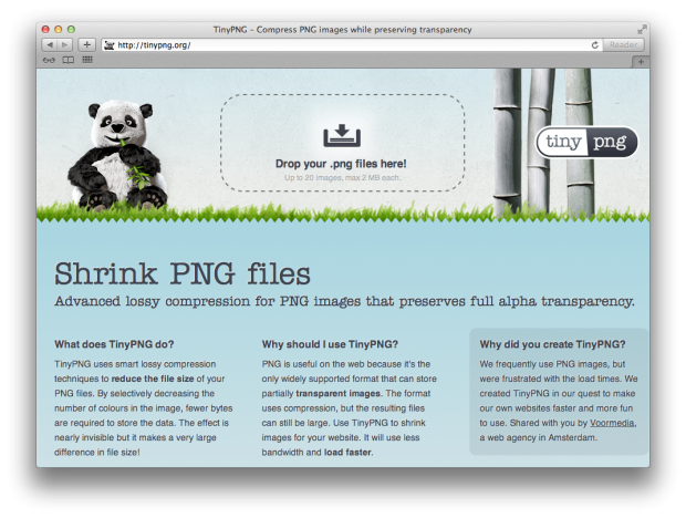 How to shrink a png file. Files while retaining transparency