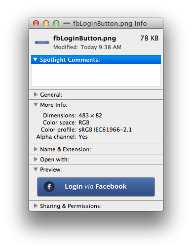 How to shrink dimensions of a png. Xcode adjust components height