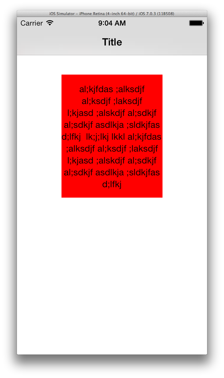 How to shrink image to fit png. Ios can t uilabel