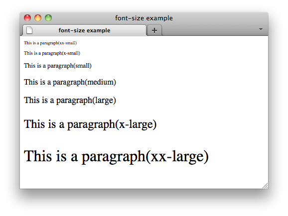 How to shrink png in css. Properties font size w