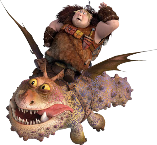 How to train your dragon png. Image fishlegs and meatlug