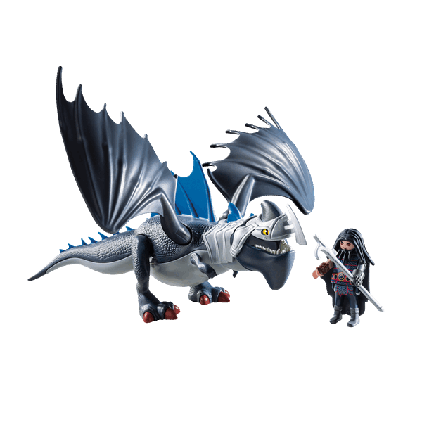 How to train your dragon png. Drago and thunderclaw playmobil