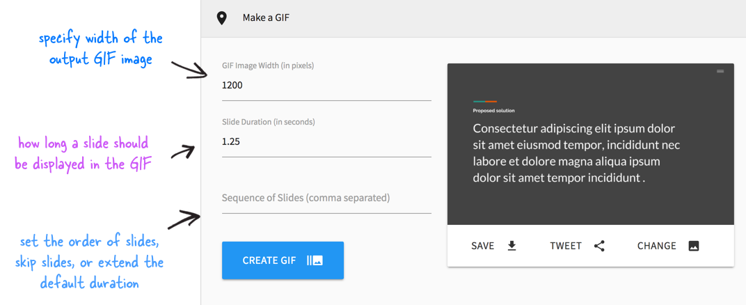 How to turn a gif into a png. Convert your google slide