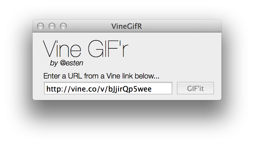 How to turn a gif into a png. Vine an animated cnet