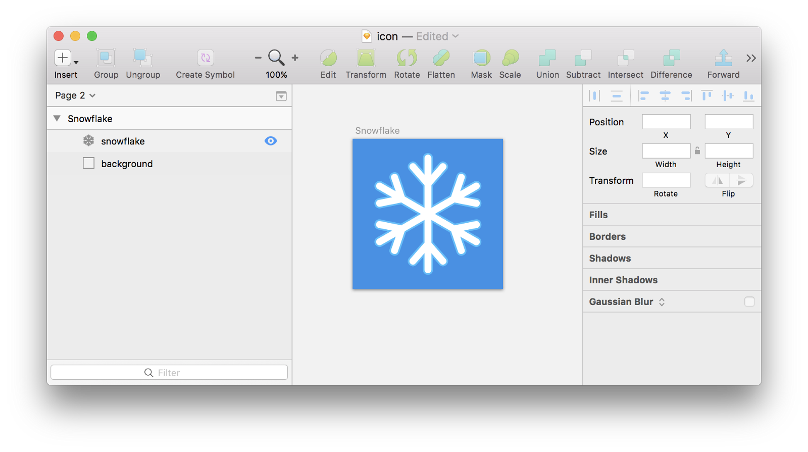 How to turn a png into an icon. Painless generation for ios