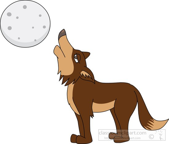 Coyote clipart. Search results for howling
