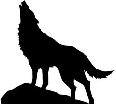 Howling clipart silhouette. Animal silhouettes arthur s