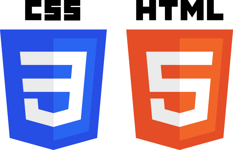 Html 5 logo png. File css and logos