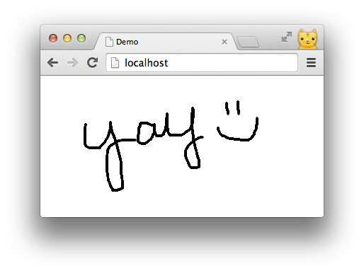 Html drawing. Doodle with strangers multi