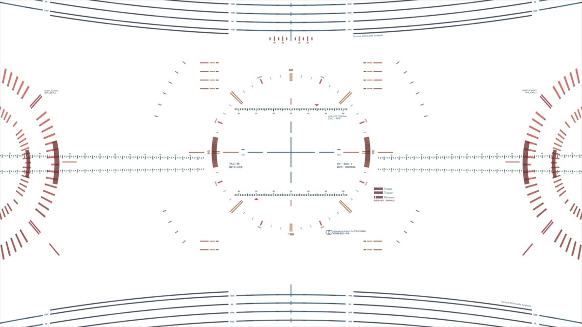 Scifi vector hud. Sinanju by disastranagant on
