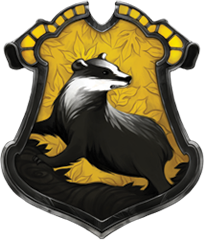 Hufflepuff crest pottermore png. Image medieval hogwarts roleplay