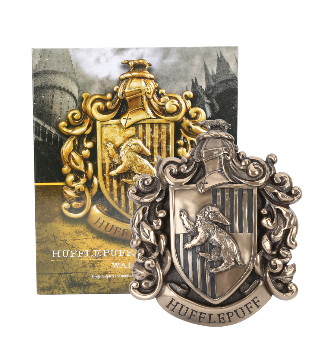 Hufflepuff crest png. Wall plaque