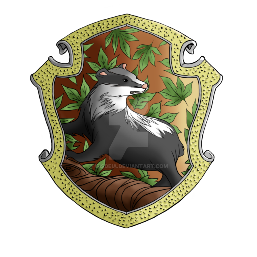 Hufflepuff crest pottermore png. By isisdeia on deviantart
