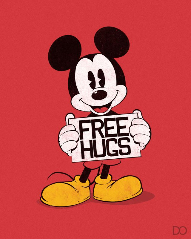 Hug clipart mickey mouse. Free hugs and mice
