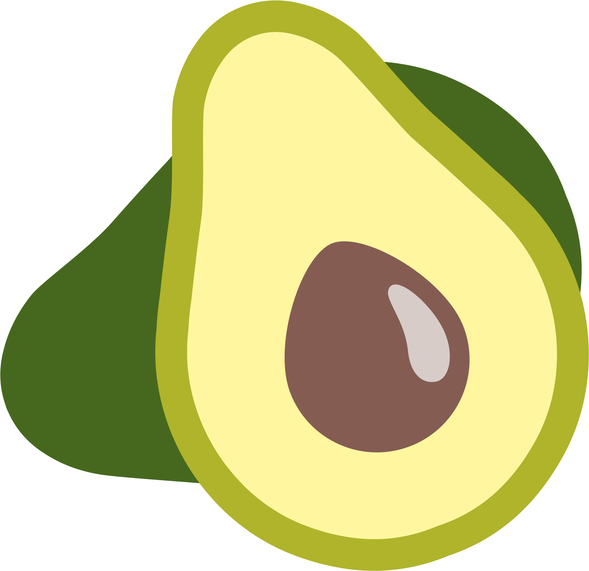 Huge avocado. Png images free library